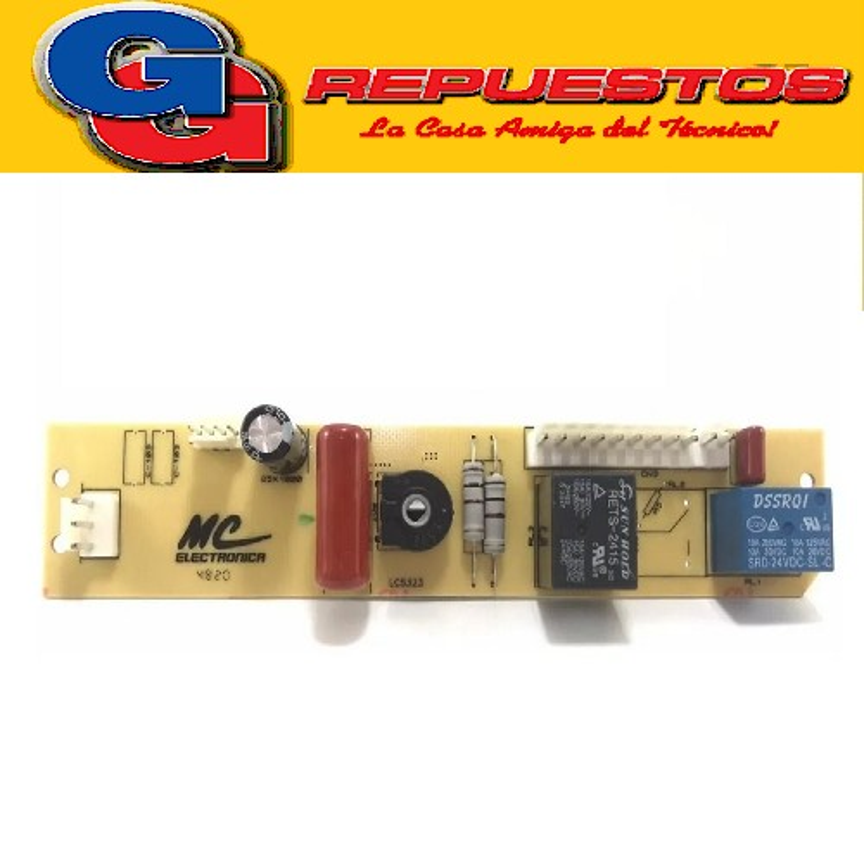 PLAQUETA HELADERA WW MC NF328 BAMBI  WW328/BAMBI NF1600/COV 328 PATRICK GENERAL ELECTRIC  STANDAR ELETRIC STE-NF1600 BOSCH KSU29-KSU31-KSU33-KSU36 TIPO MC COPIA NACIONAL