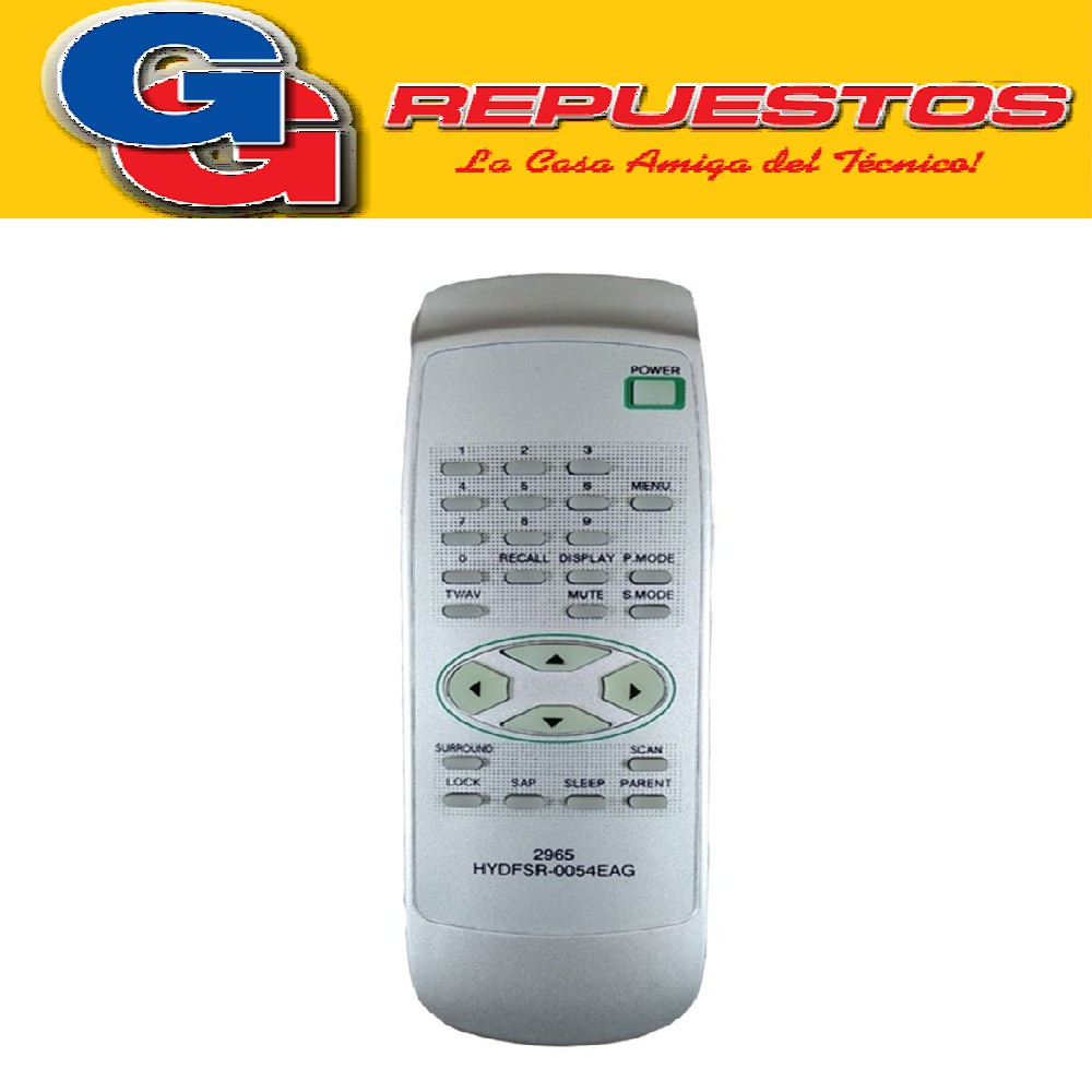 CONTROL REMOTO TV BLUESKY HYDFSR-0054EAG 2965