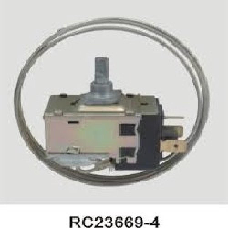 TERMOSTATO TIPO RC 23669-4E / PHILIPS / 2 FRIOS 3 CONTACTOS MEDIA CAÑA (+4.1-15.2_-21.2_-28.1) 3 TERMINALES LARGO CAPILAR 900 mm