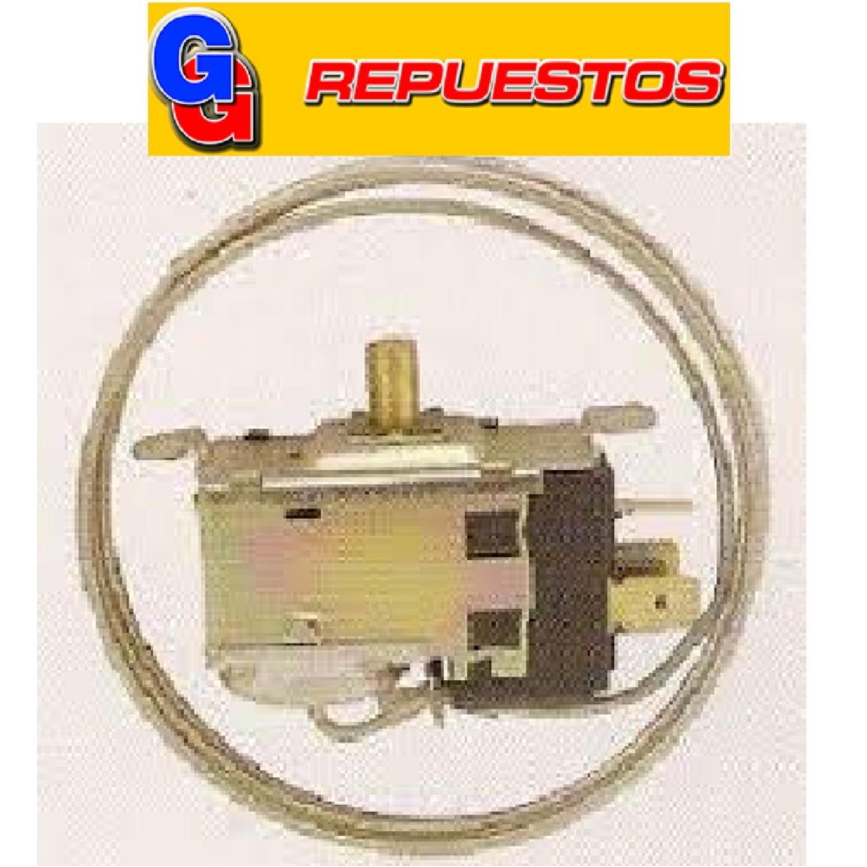 TERMOSTATO TIPO RC 93672-2S / COLUMBIA / 2 FRIOS (+3.5-13.5_-17.6_-22) 3 CONTACTOS MEDIA CAÑA