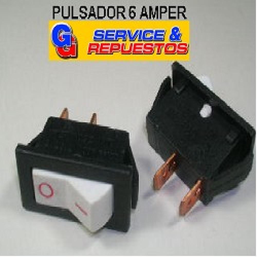 LLAVE PULSADORA 6 AMP. BORDEADORA