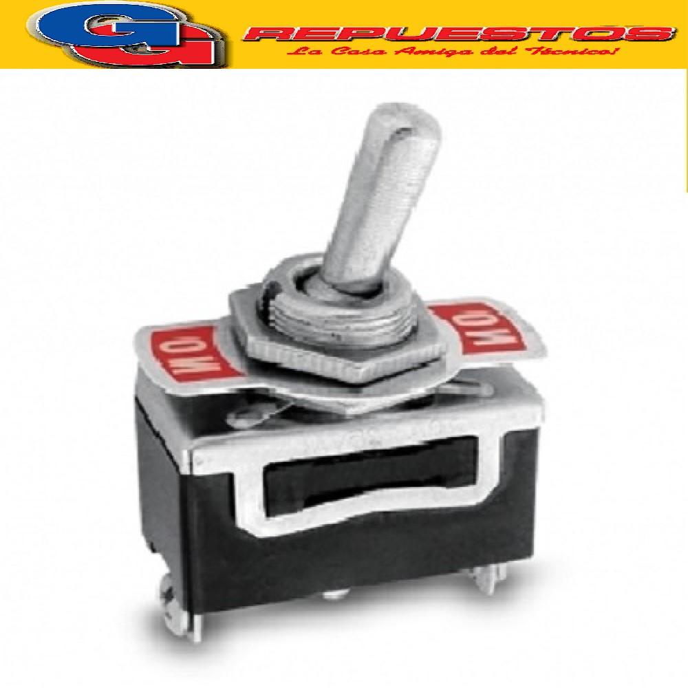 LLAVE HH BIPOLAR 15 AMPER 1-0-1 CON PUNTO MEDIO
