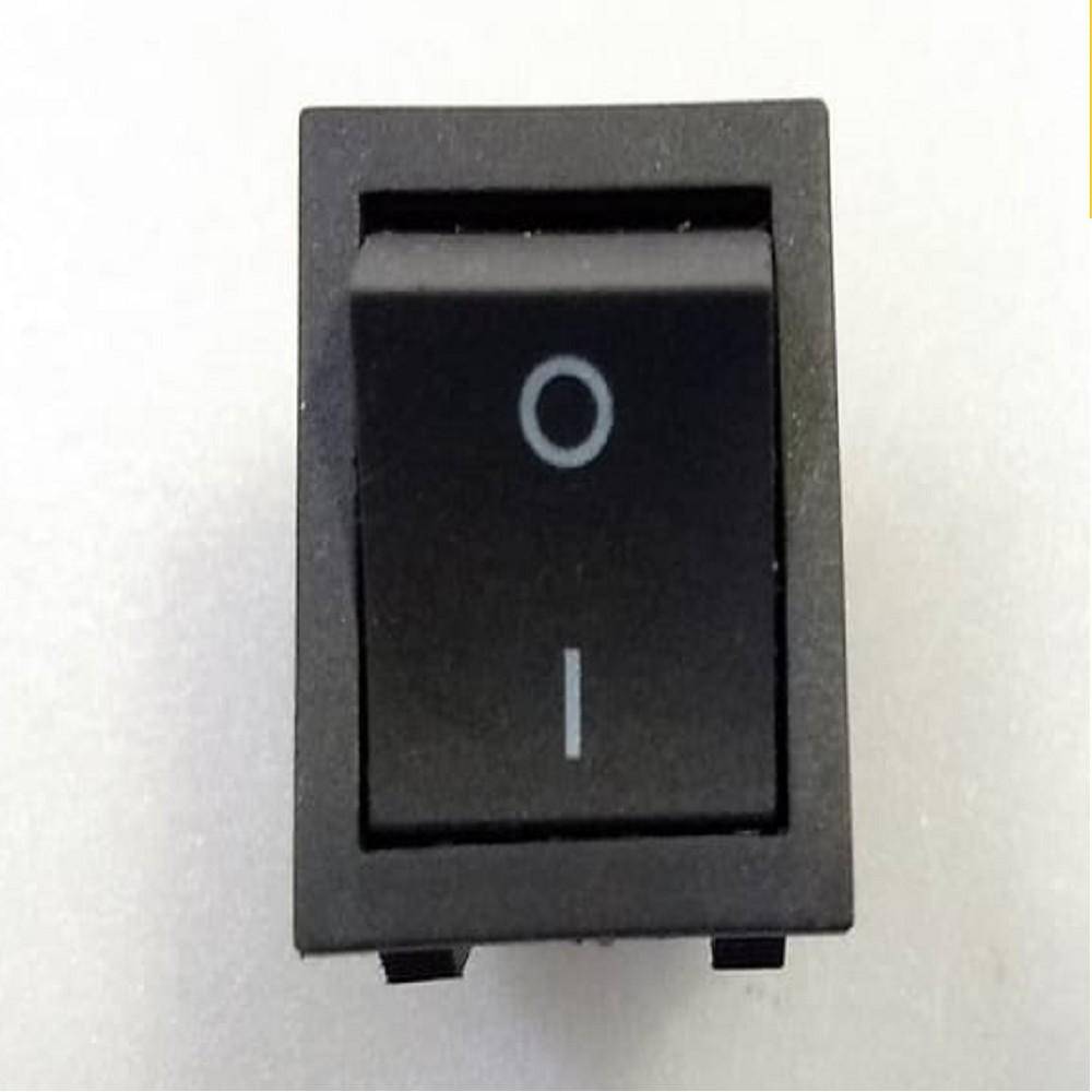 LLAVE TECLA 4 CTOS 15 A 250 V NEGRA IMP.