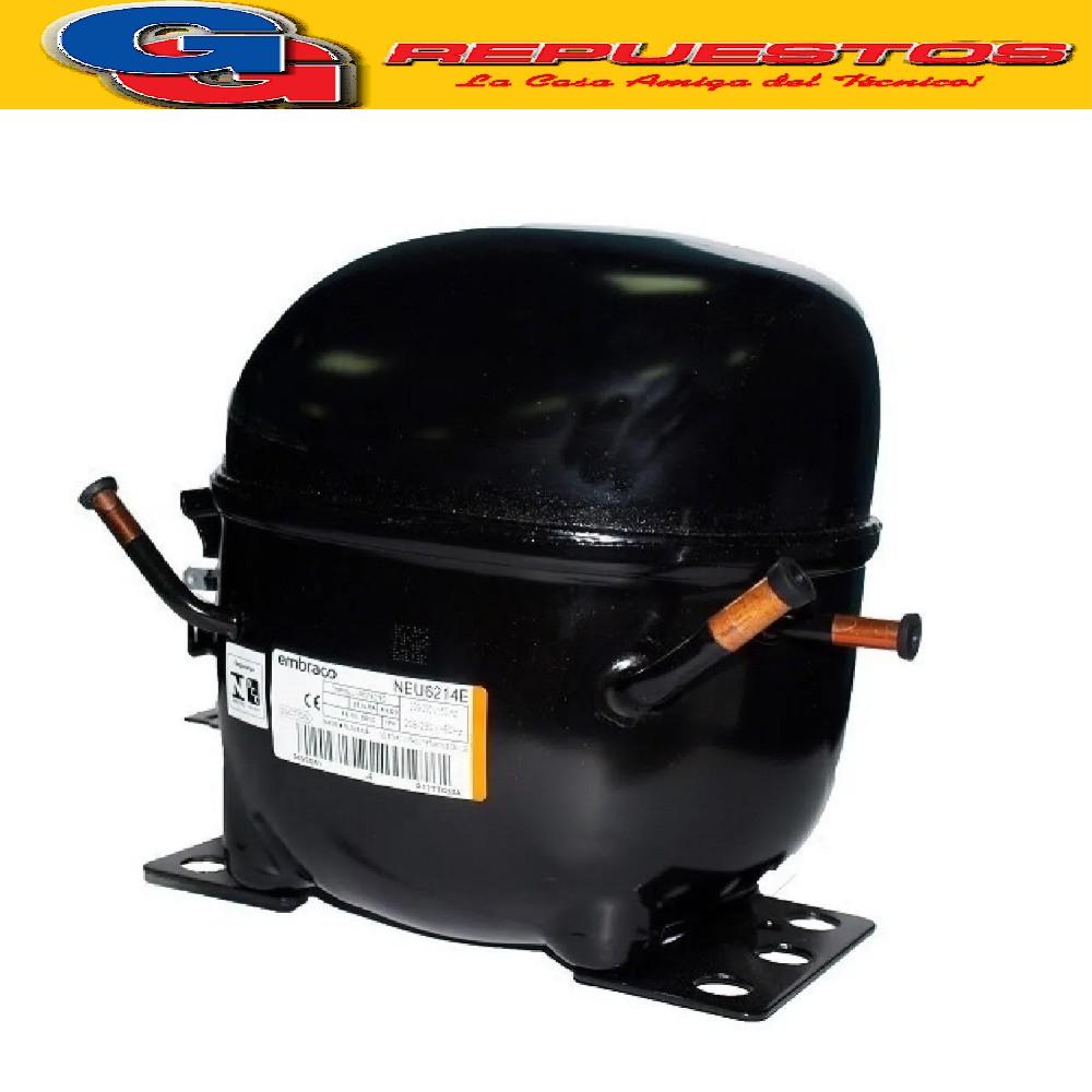 MOTOCOMPRESOR EMBRACO ASPERA 3/4 HP R22 M- HBP- NEU6214E COMERCIAL