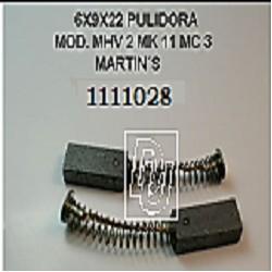 CARBON 6.00X9X22/20 PULIDORA MOD. MHV 2 MK 11 MC 3