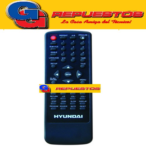 CONTROL REMOTO DVD HYUNDAI D305 3562