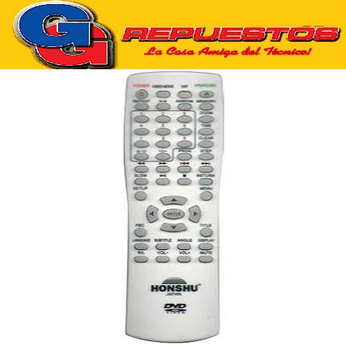 CONTROL REMOTO DVD HONSHU FST STICKER 3597