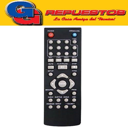CONTROL REMOTO DVD ARMHED 3815