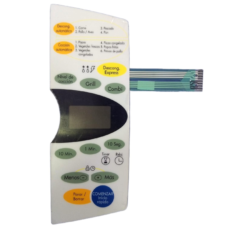TECLADO MICROONDAS MD159 BGH 24960