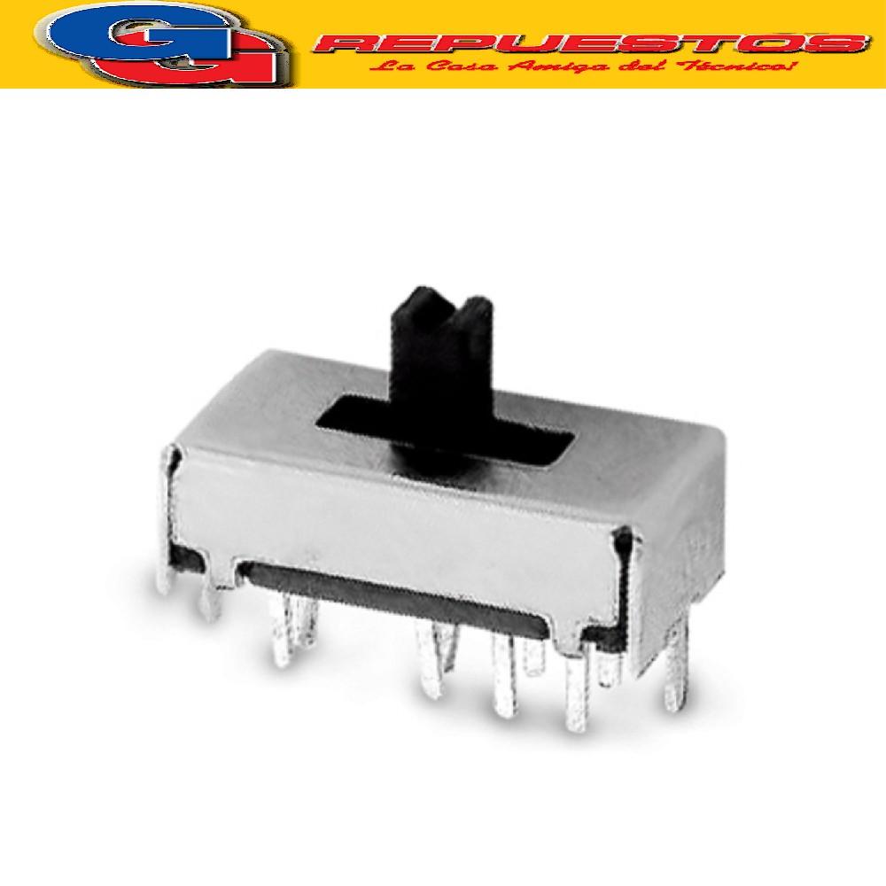 LLAVE SELECTORA DESLIZABLE PALANCA CORTA SS12F44G4, LARGO TOTAL 13 mm