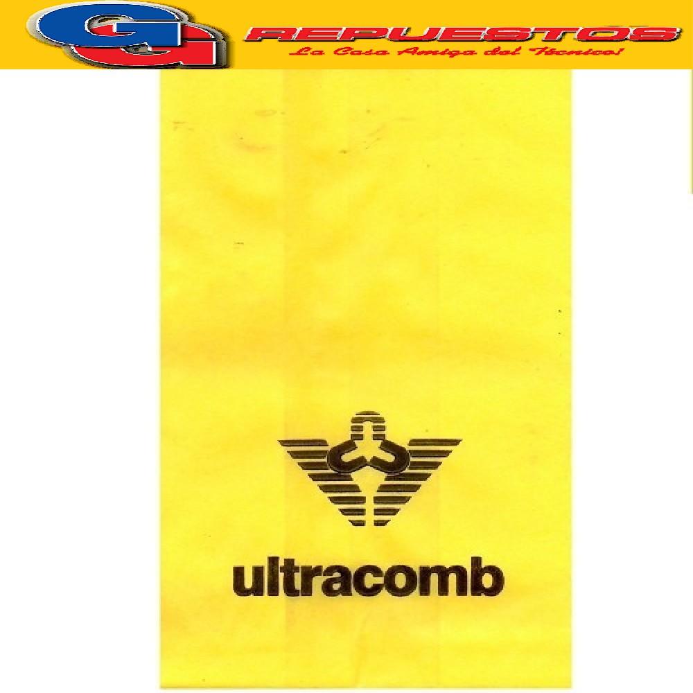 BOLSA ASPIRADORA ULTRACOMB LARGA PIONERO (X5) 17CM X 39CM