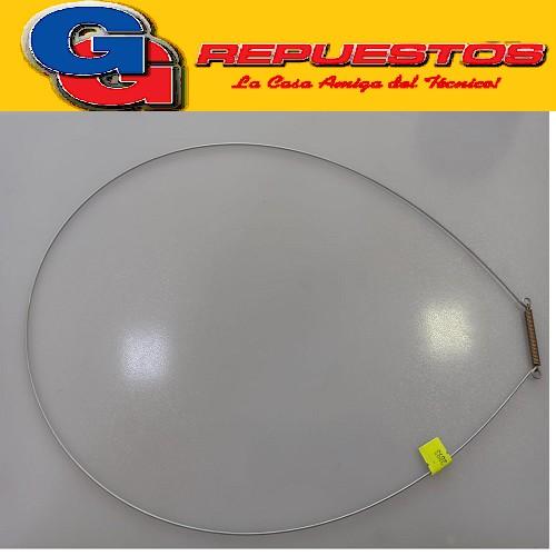 ABRAZADERA FUELLE GABINETE LAVARROPAS CODINI CF60 CF90 CF99 COMPACT 7101 6,5KG 1000RPM COMPACT 7102 6,5KG 1000RPM WHITE WESTINGHOUSE TURCO (2603900300)2603900700