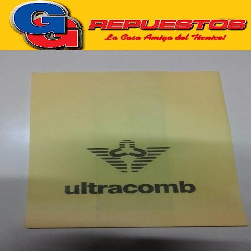 BOLSA ASPIRADORA DE PAPEL X5 ULTRACOMB ANCHA DE 15 ltrs 22CM X 27.5CM