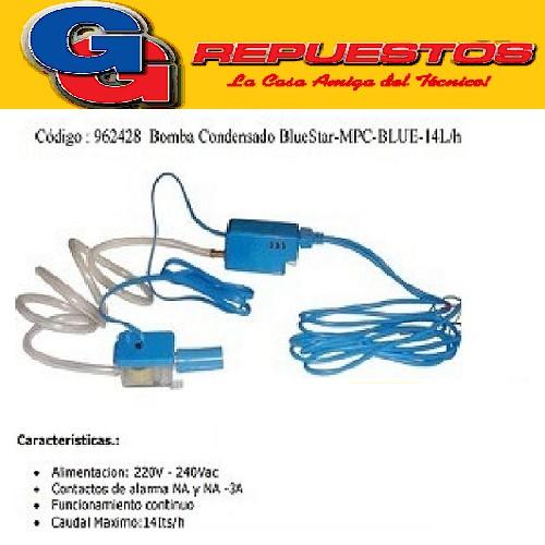 BOMBA DESAGOTE CONDENSADO BlueStar-MPC-BLUE-14L/h AIRE ACONDICIONADO