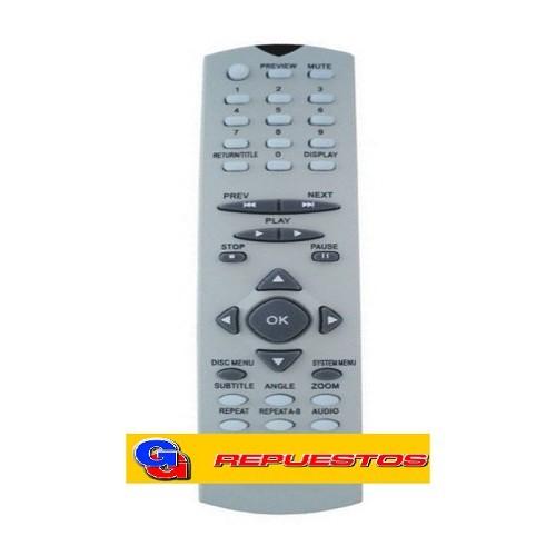 CONTROL REMOTO DVD ADMIRAL MAGNAVOX PAGNAVOX 2795