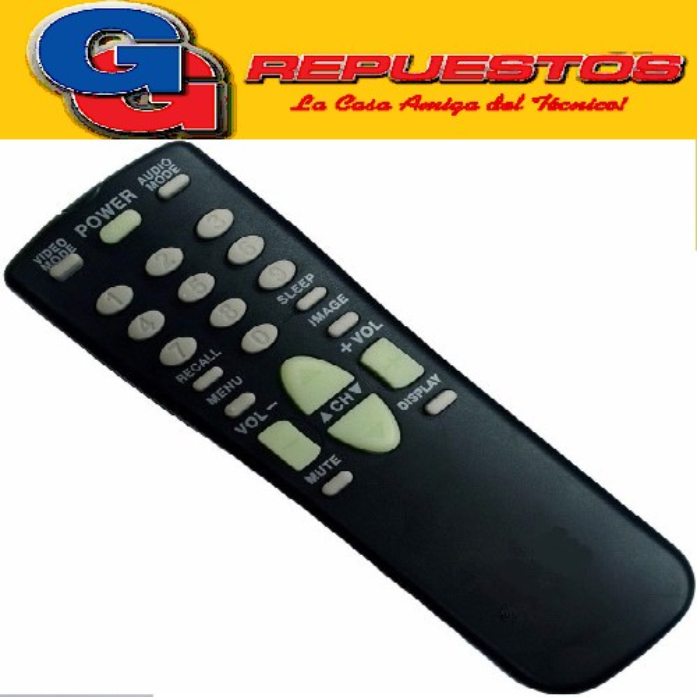 CONTROL REMOTO SANYO FXMR 2560 TV 40 FXMRS