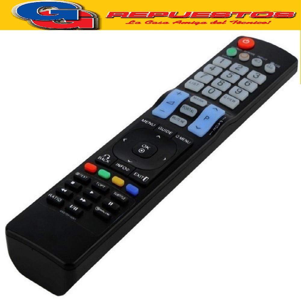 CONTROL REMOTO LCD LED LG AKB73615320