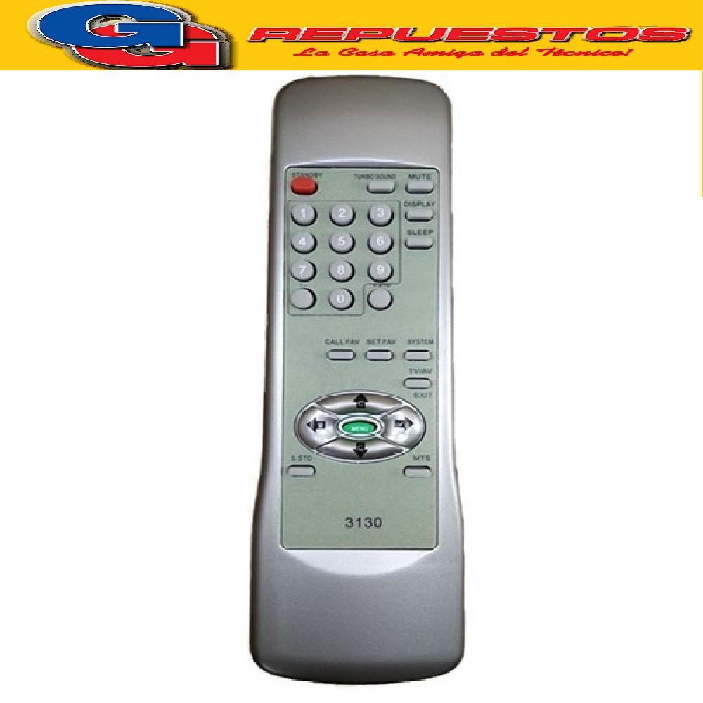 CONTROL REMOTO TV TELEFUNKEN GENERAL ELECTRIC (3130) TELEFBS