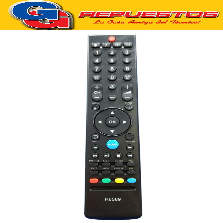 CONTROL REMOTO LCD  HITACHI  LCD CR-FD06 - SANSEI - JVC 3589  3805=3589=R6805=R6589= 440LCD=3842=3840