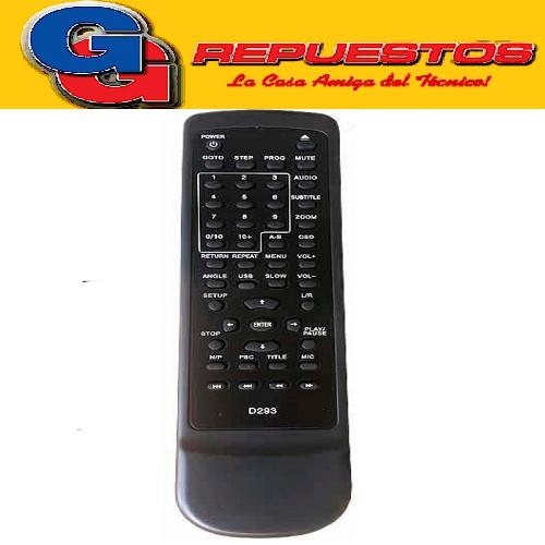 CONTROL REMOTO DVD WINS WS 588 STICKER 3578