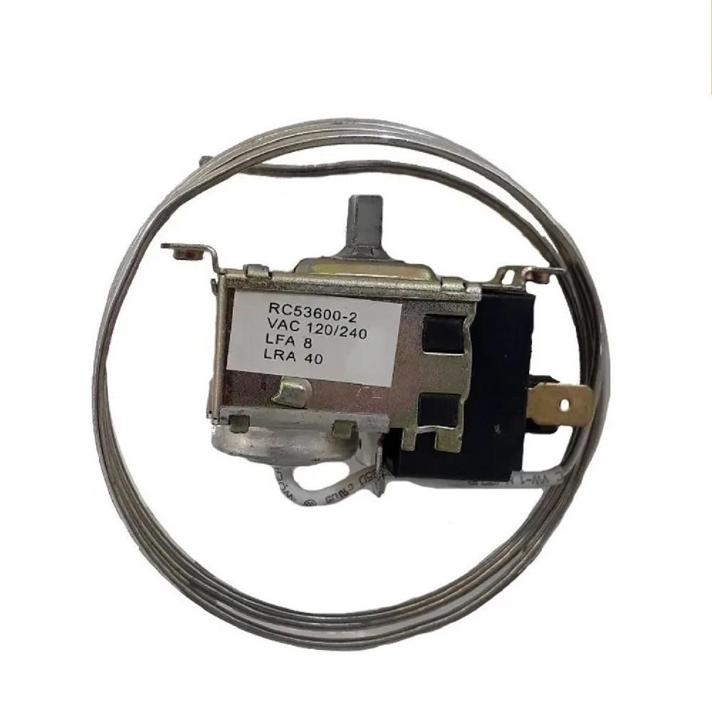 TERMOSTATO BlueStar-RC 53600-2E .Gepasa (-11.5-16.3_-15.6-21.1_-20.2-26.8) FREEZER 2 CONTACTOS MEDIA CAÑA CAPILAR 90CM