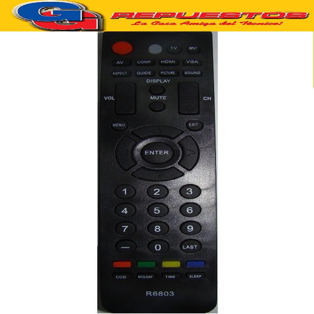 CONTROL REMOTO LCD-LED BGH TELEFUNKEN HISENSE 3803 ER3120 ER-31201B