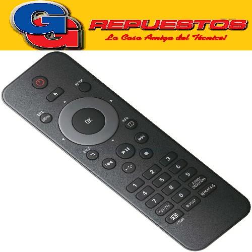 CONTROL REMOTO DVD PHILIPS CON USB 3594 /13594