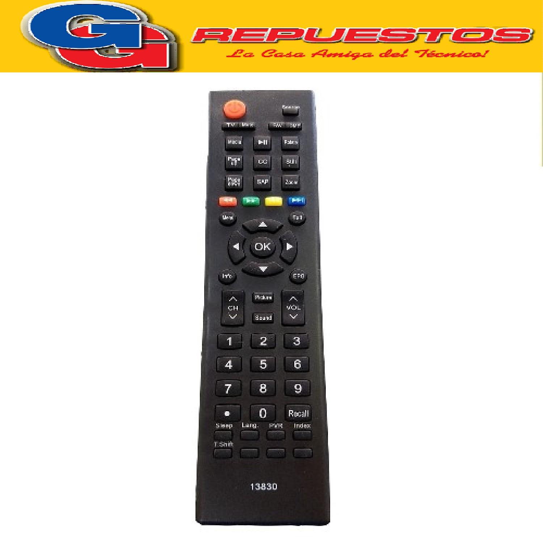 CONTROL REMOTO LCD LED BGH/TFK/JVC RM-C2085/PHILCO 3830 ER-22640N HISENSE HLE3213A RM-C2085 ILO 13830 BGH BL3212D