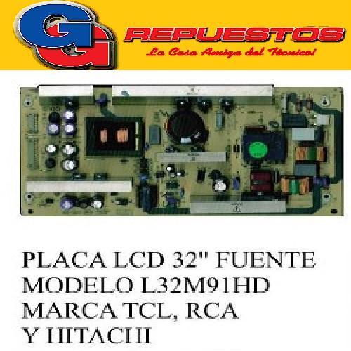 PLACA DE FUENTE LCD 32