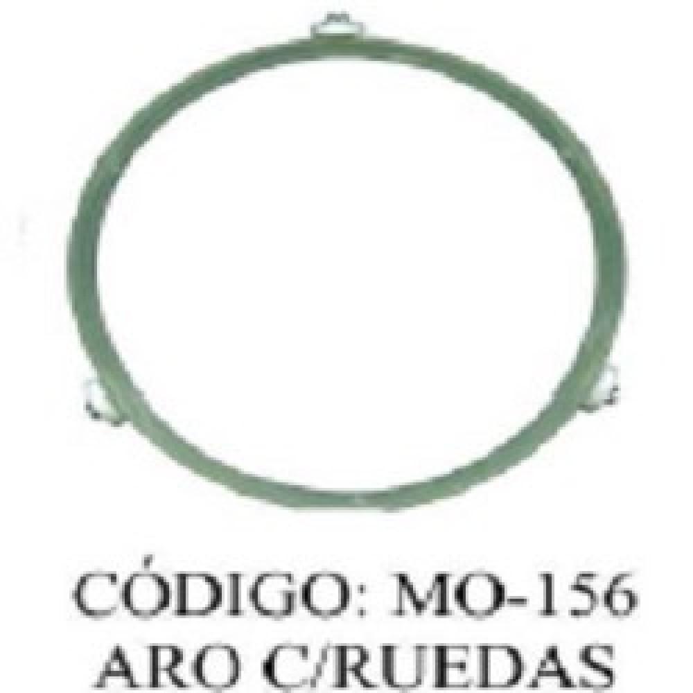 GIRAPLATO MICROONDAS REDONDO 22.CM RUEDA 1.95 CM
