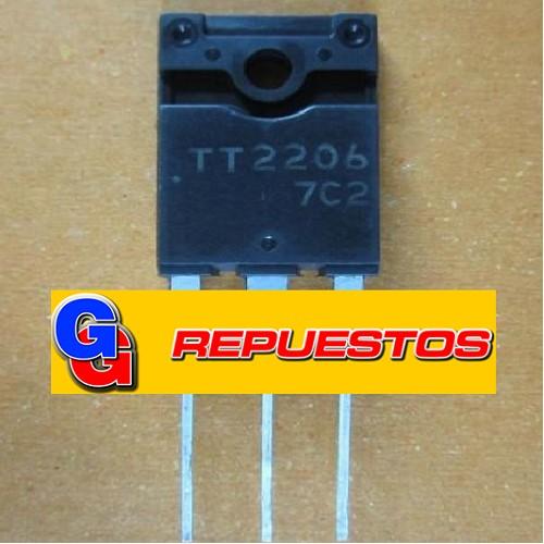 TT2202 TRANSISTOR NPN 800V 10A 80W  C/DAMPER HORIZONTAL =TT2076=TT2140=BU1508DX