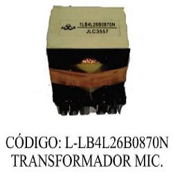 TRANSFORMADOR DE FUENTE MICROONDAS L-LB4L26B0870N