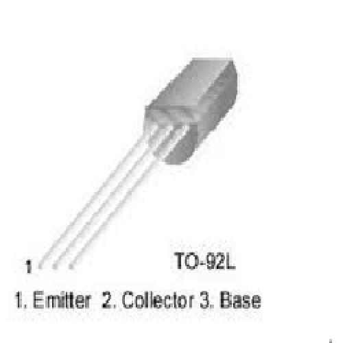 TRANSISTOR NPN 2SC2383 160 VOLTS 0.50 AMPER