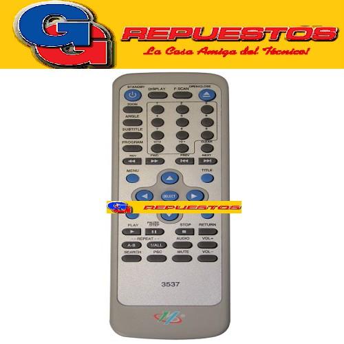 CONTROL REMOTO DVD HITPLUS VARIOS
