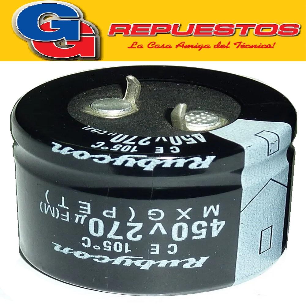 CAPACITOR ELECTROLITICO 270uFX450 V BLINDADOS