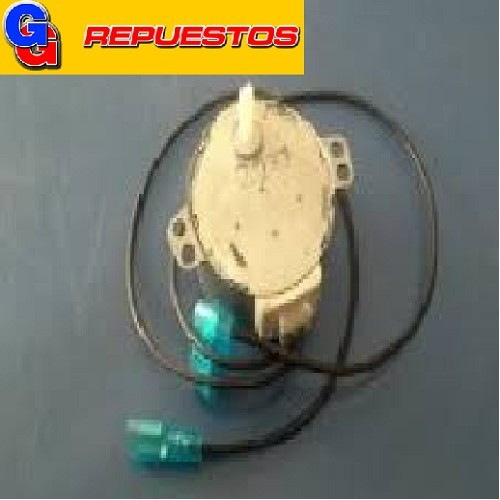 MOTOR GIRAPLATOS MICROONDAS TYJ50-8  CON CABLES EJE PUNTA CHATA 220 VOLTS