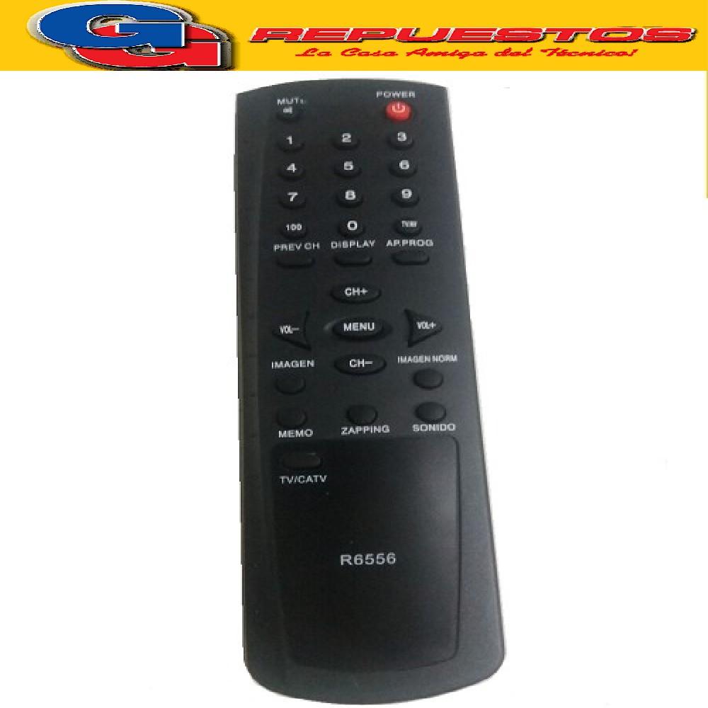 CONTROL REMOTO TV RCA  HITACHI 3556 R6556