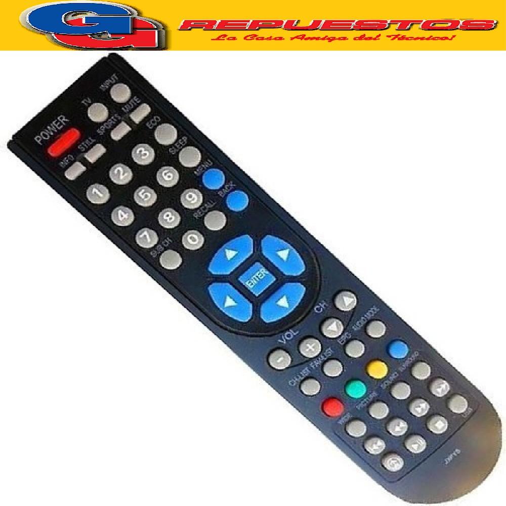 CONTROL REMOTO LCD SANYO PHILCO NOBLEX 3599 R6599