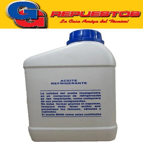 ACEITE REFRIGERACION MXM OIL.1 LITRO R134a-PAG32 TAMBIEN PARA  AUTOMOTOR