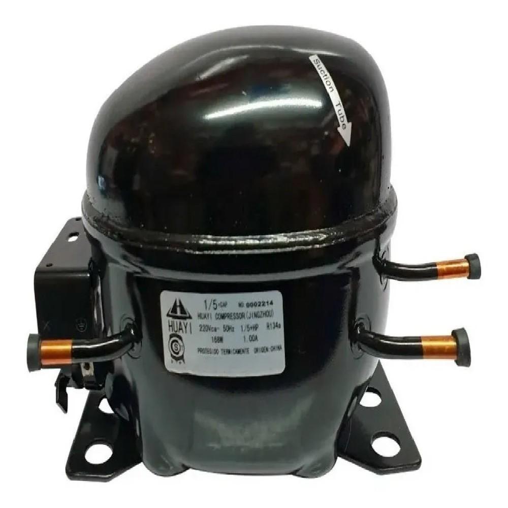 MOTOCOMPRESOR HUAYI 1/5+ R134 DUAL R12 BLEND E63HD5- X63HYD