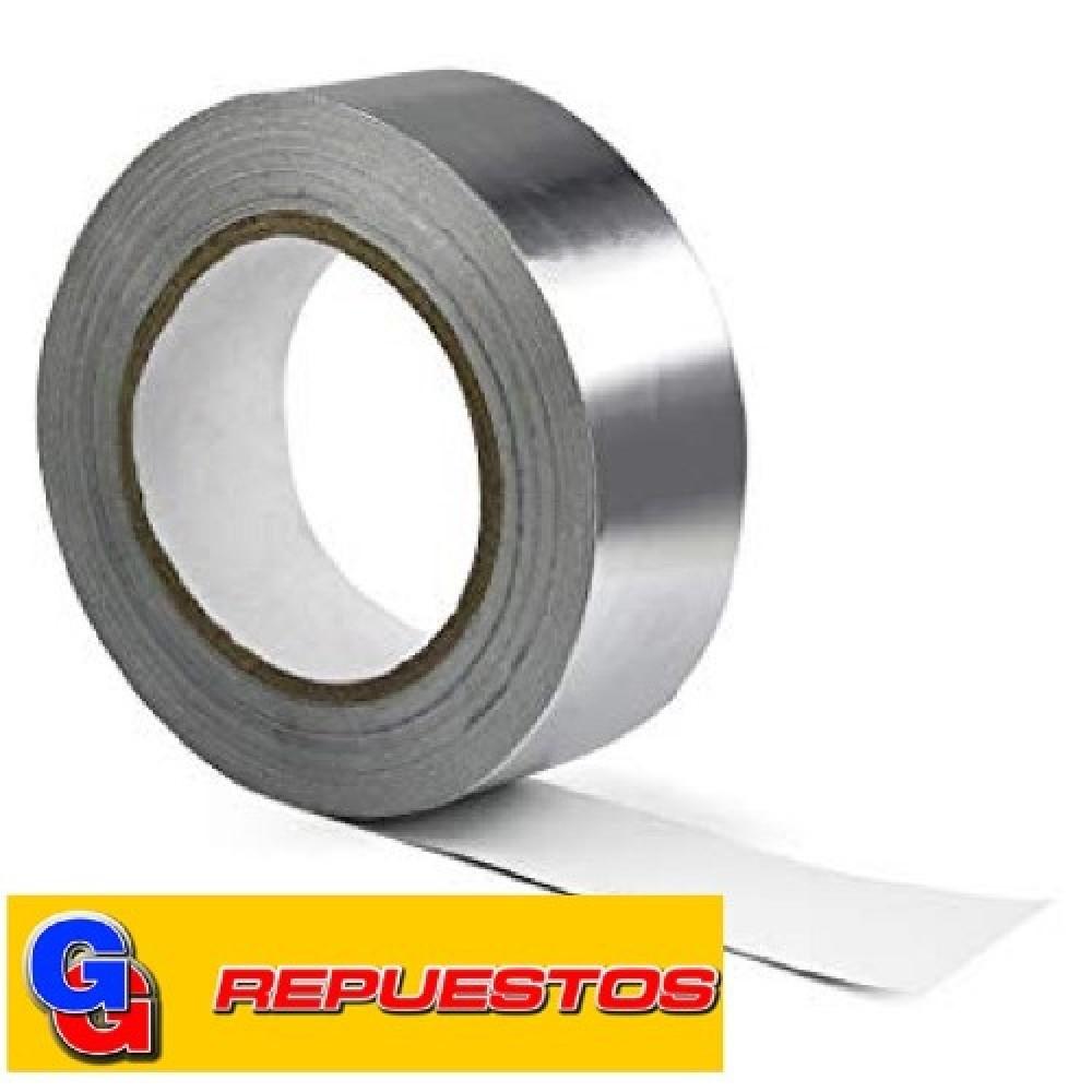 CINTA DE ALUMINIO CON ADHESIVO 40 METROS X 48 mm