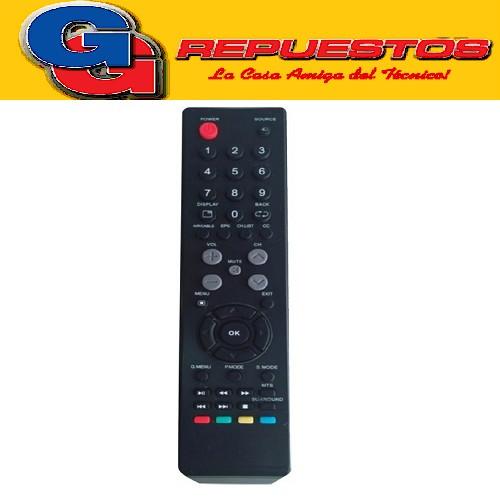 CONTROL REMOTO LED ADMIRAL 3837