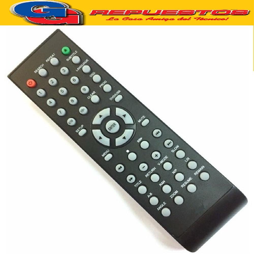 CONTROL REMOTO DVD STICKER 3576
