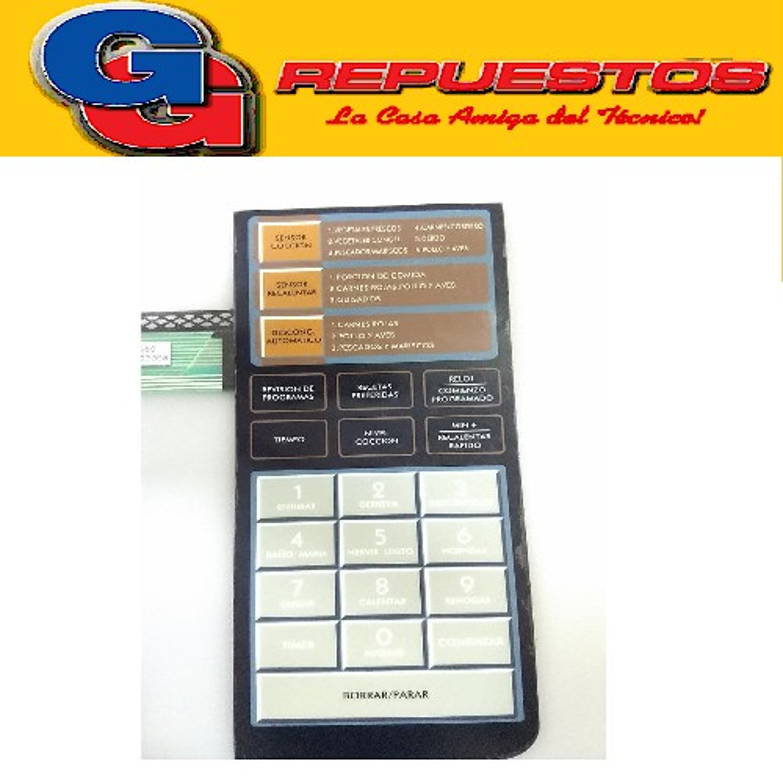 TECLADO MICROONDAS BGH 16900