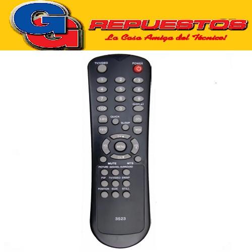 CONTROL REMOTO TV ADMIRAL  MP1369 3523