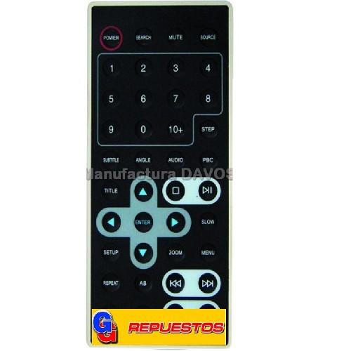 CONTROL REMOTO DVD X VIEW 3527
