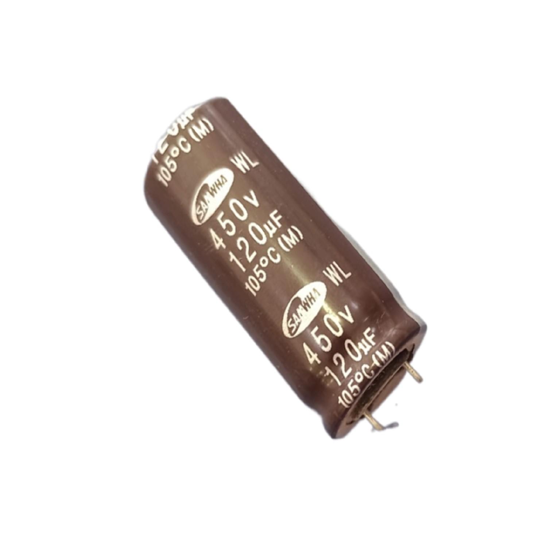 CAPACITOR ELECTROLITICO 120uFX450 VOLTS