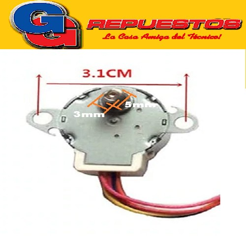 MOTOR SWING VENTANA AIRE SPLIT 12VDC MP24GA