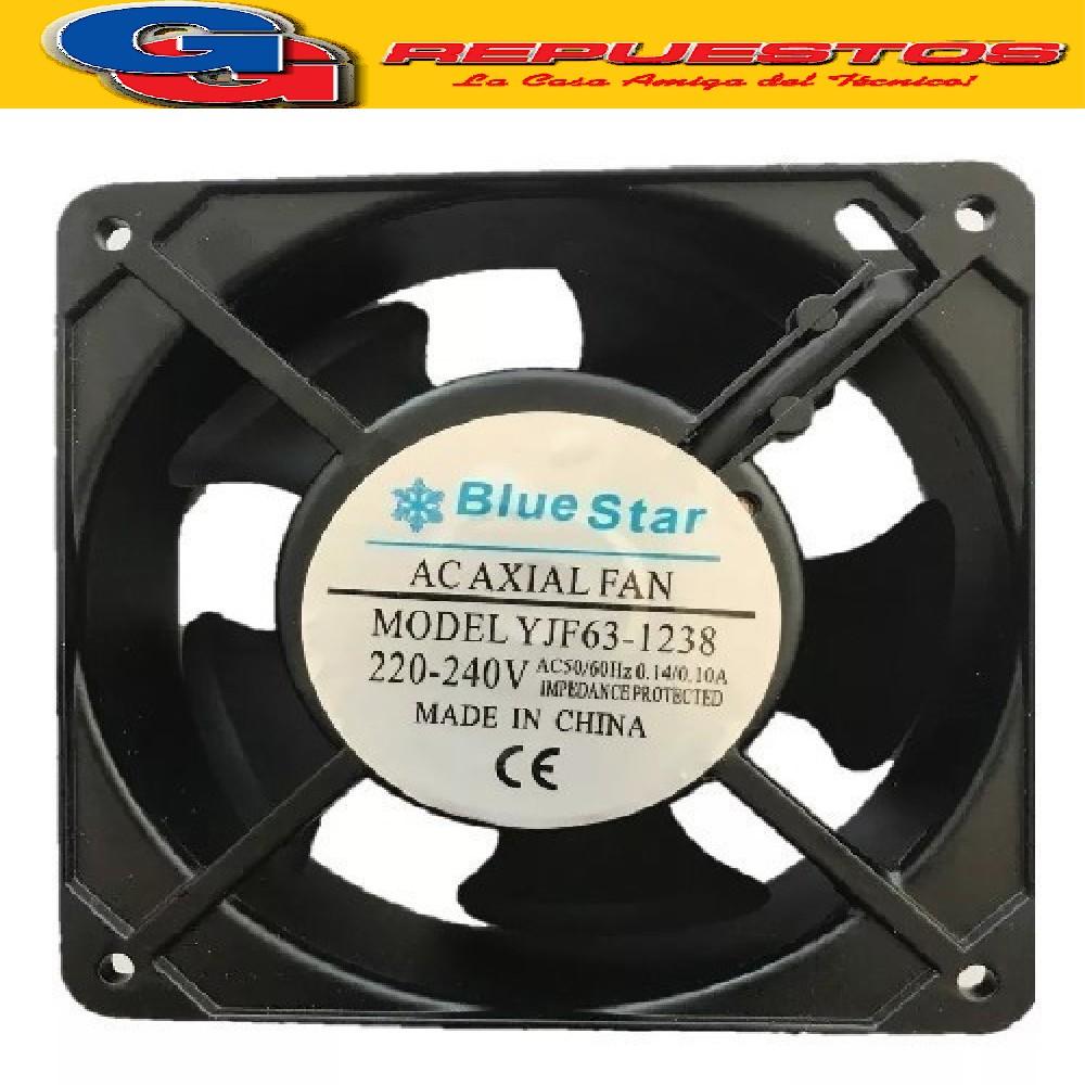 COOLER MINIFORZADOR .BlueStar-12X12-PALA d.110mm ALUMINIO 220 V