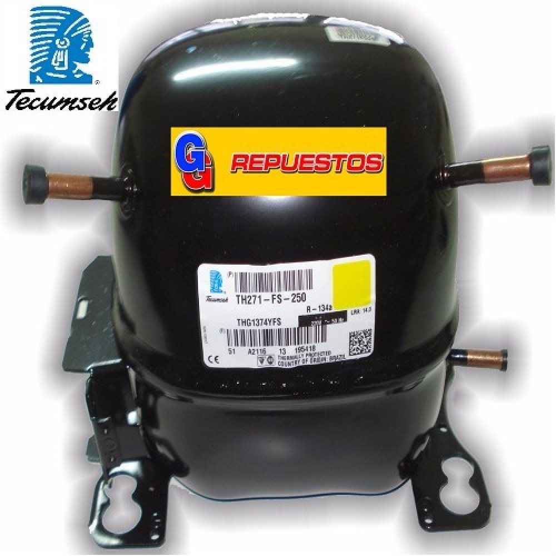 MOTOCOMPRESOR TECUMSEH 1/4HP R12 AE1380AS 178KCAL/H  BLEND R12